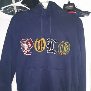 Polo Ralph lauren fleece hoodies men medium